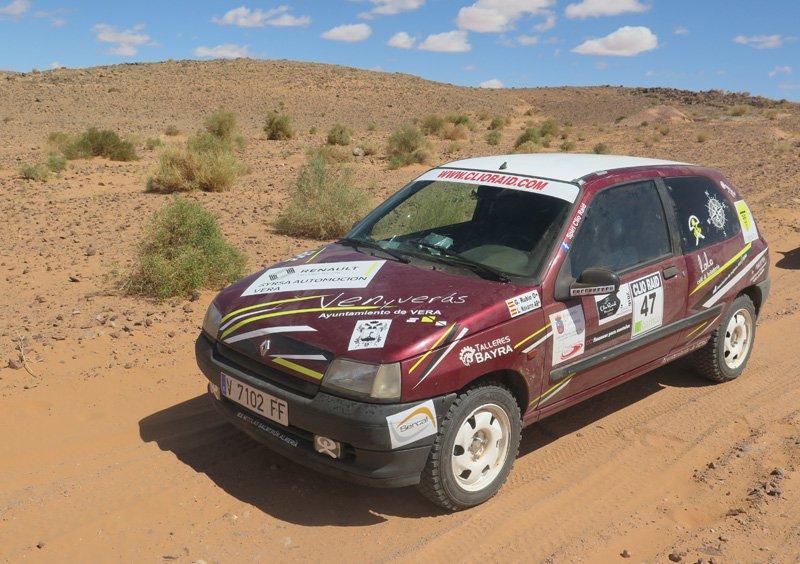 Clio Vuelta Raid De La Marrakech nwN8OPkX0